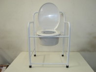 Commode, white with no wheels