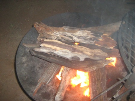 South African Braai Fire