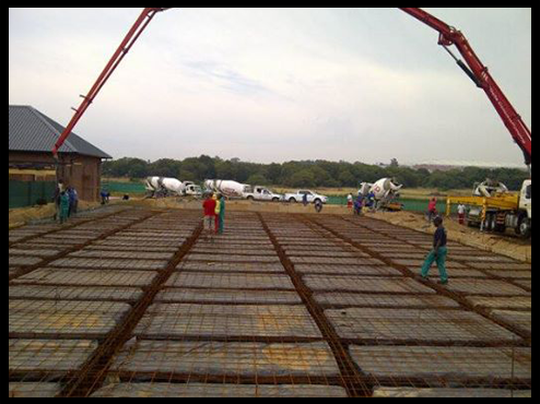 building a raft foundation in Centurion