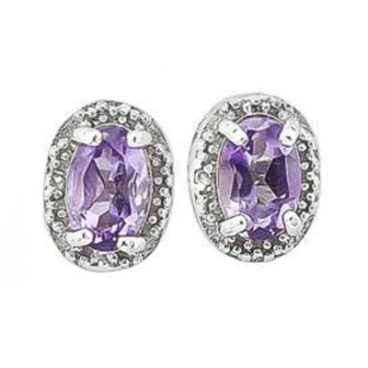 amethyst-&amp-diamond-earrings