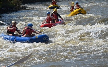 White water rafting in harties