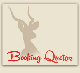 Booking Quotas