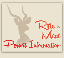 Rifle and Meat Permit Information