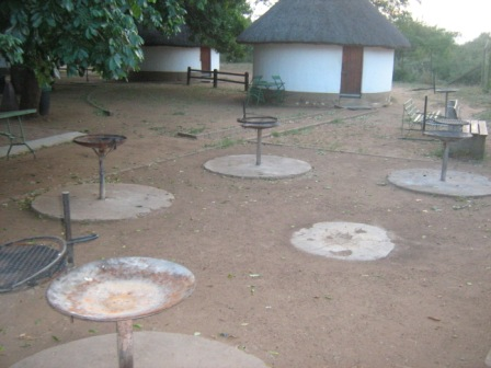 Social Braai area at Balule