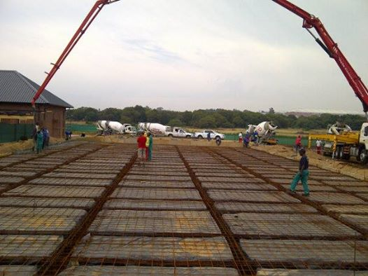 Raft foundation @ 1200m2 ( reinforcing layout )